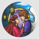 Fantasy Couple sticker
