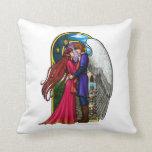 Fantasy Couple Throw Pillows