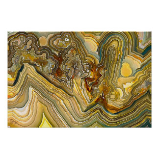 Fantasy Crazy Lace Agate Opus 01 Poster