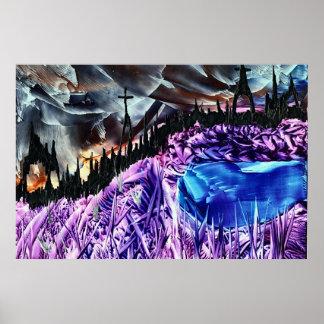 Fantasy Cross Scene Poster
