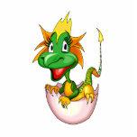 Fantasy Cute Baby Dragon Acrylic Cut Out