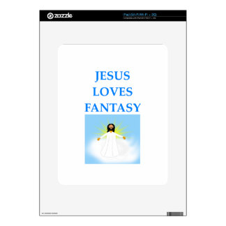 FANTASY DECALS FOR THE iPad
