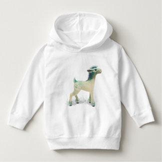 Fantasy deer - toddlers hoodie