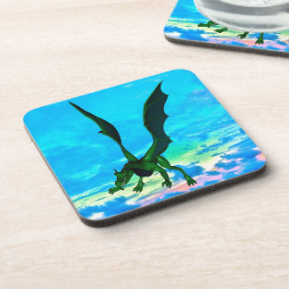 Fantasy Dragon Beverage Coasters