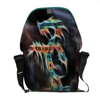 Fantasy Dragon Courier Bag
