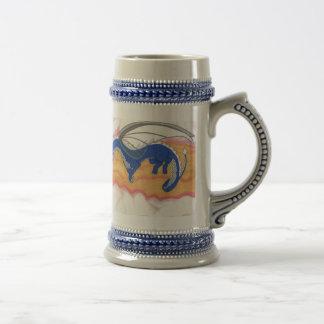Fantasy Dragon Duo Beer Stein