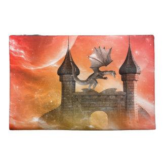 Fantasy, dragon travel accessory bags