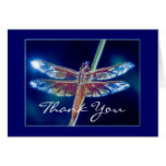 Fantasy Dragonfly Thank You Card