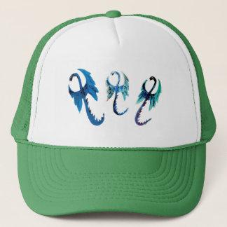 Fantasy Dragons Art Trucker Hat