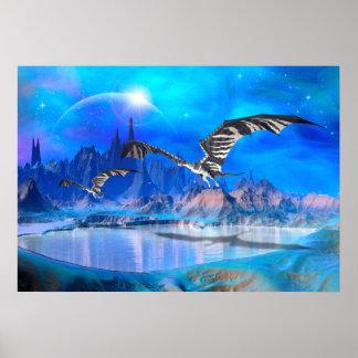 Fantasy Dragons Poster
