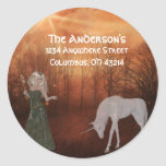 Fantasy Dream Address Labels Stickers
