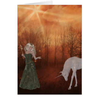 Fantasy Dream Greeting Card