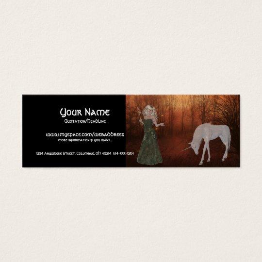 Fantasy Dream Profile Cards