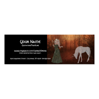 Fantasy Dream Profile Cards Double-Sided Mini Business Cards (Pack Of 20)