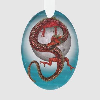 Fantasy Eastern Red Dragon