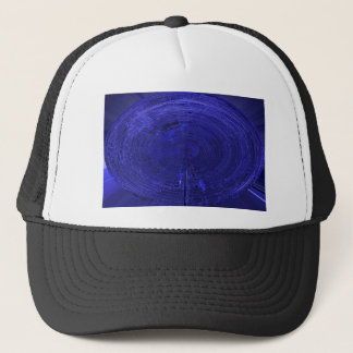 fantasy electronic circuit trucker hat
