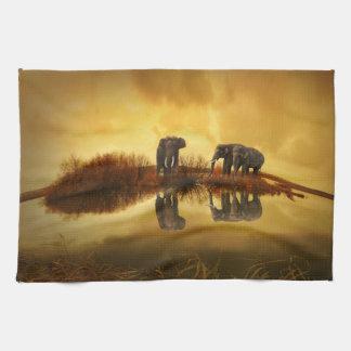 Fantasy Elephant Hand Towel