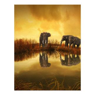 Fantasy Elephant Letterhead