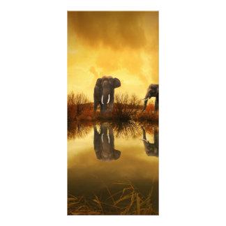 Fantasy Elephant Rack Card
