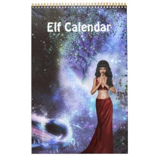 Fantasy Elf Calendar