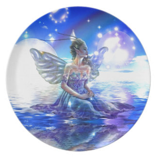 Fantasy Faeries Gifts Plate