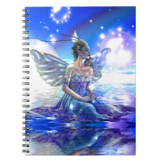 Fantasy Faeries Gifts Spiral Notebook
