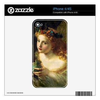Fantasy Faeries Skin For iPhone 4S