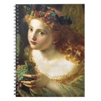 Fantasy Faeries Spiral Notebook