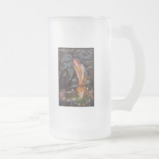 Fantasy Fairies on an Enchanted Midsummer Eve Beer Mugs