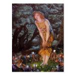 Fantasy Fairies on an Enchanted Midsummer Eve Post Card