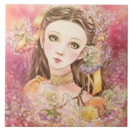Fantasy Fairy Art Tile
