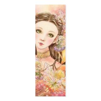 Fantasy Fairy Bookmark Mini Business Card