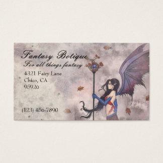 Fantasy Fairy Gothic Business Card Custom