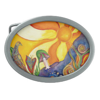 Fantasy Fairy Sunshine Dream Alice In Wonderland Belt Buckle