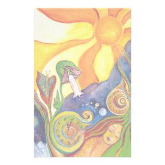 Fantasy Fairy Sunshine Dream Alice In Wonderland Stationery