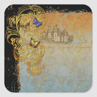 Fantasy Fairy Tale Stickers Tags