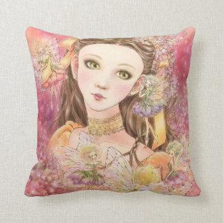 Fantasy Fairy Throw Pillow