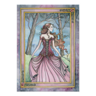 Fantasy Fairytale Art Print Poster