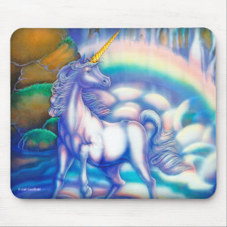 Fantasy Falls playing cards Mouse Pad