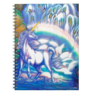 Fantasy Falls playing cards Notebook