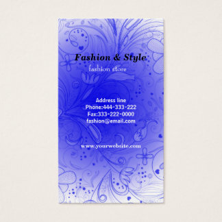 Fantasy Fashion Business Card