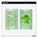 Fantasy Faux Jewel Green Unicorn Kindle Skin