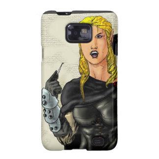 Fantasy Female Elfen Rogue Samsung Galaxy SII Cases