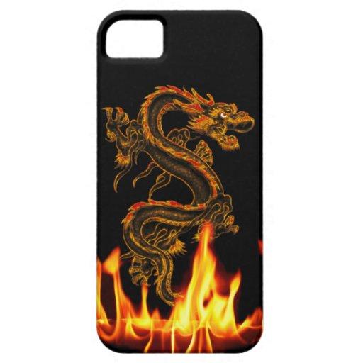 Fantasy Fire Dragon iPhone 5 Case