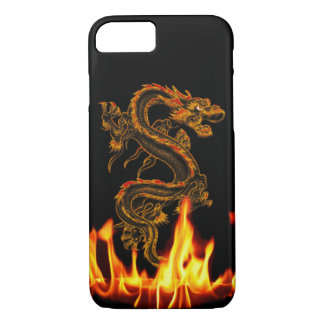 Fantasy Fire Dragon iPhone 7 case