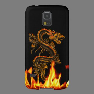 Fantasy Fire Dragon Samsung Galaxy Nexus Case