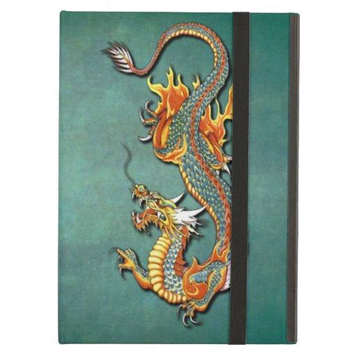 Fantasy Fire Dragon Tattoo iPad Air Cover