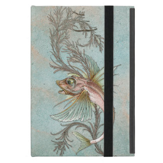 Fantasy Fish Art Nouveau iPad Mini Cover