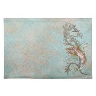 Fantasy Fish Art Nouveau Placemats