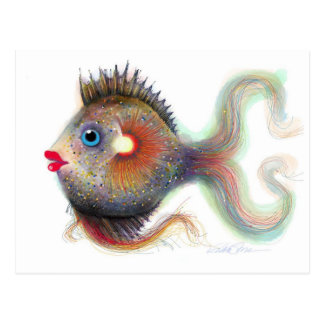 Fantasy Fish: Fancy Post Cards